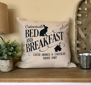 Easter Farmhouse Pillow