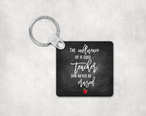 Teacher's Influence Keychain