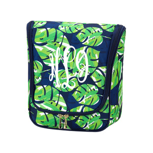 Hanging Travel Case - Lola Palm Leaf
