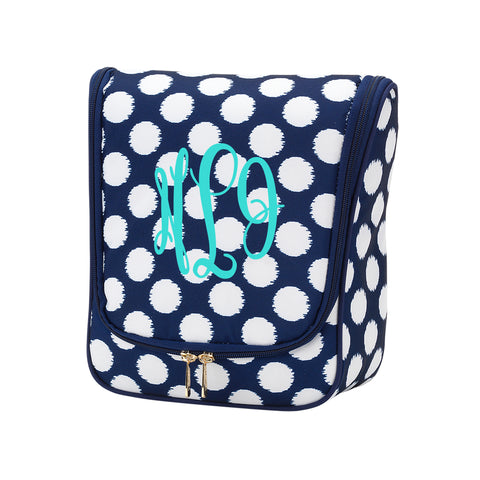 Hanging Travel Case - Polly Dot