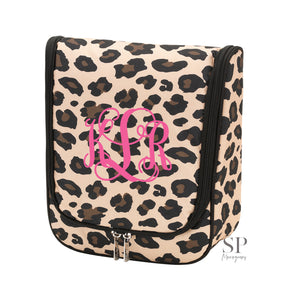 Hanging Travel Case - Leopard