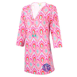 Monogram Tunic Coverup