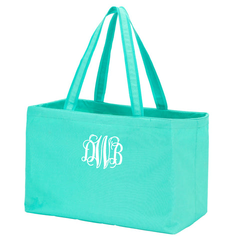 Monogram Ultimate Tote in mint