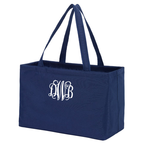 Monogram Ultimate Tote in navy