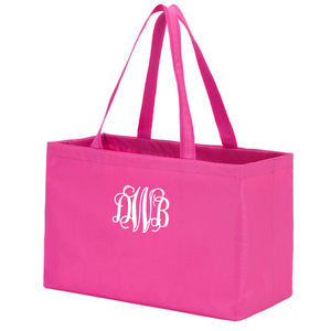 Monogram Ultimate Tote in pink