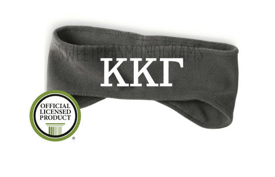 Kappa Kappa Gamma Fleece Headband