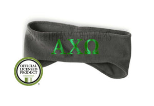 Alpha Chi Omega Fleece Headband