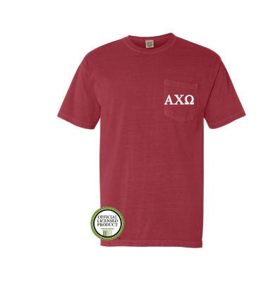 Alpha Chi Omega Pocket Tee