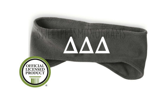 Delta Delta Delta Fleece Headband