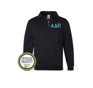 Alpha Delta Pi Fleece Quarter Zip Pullover