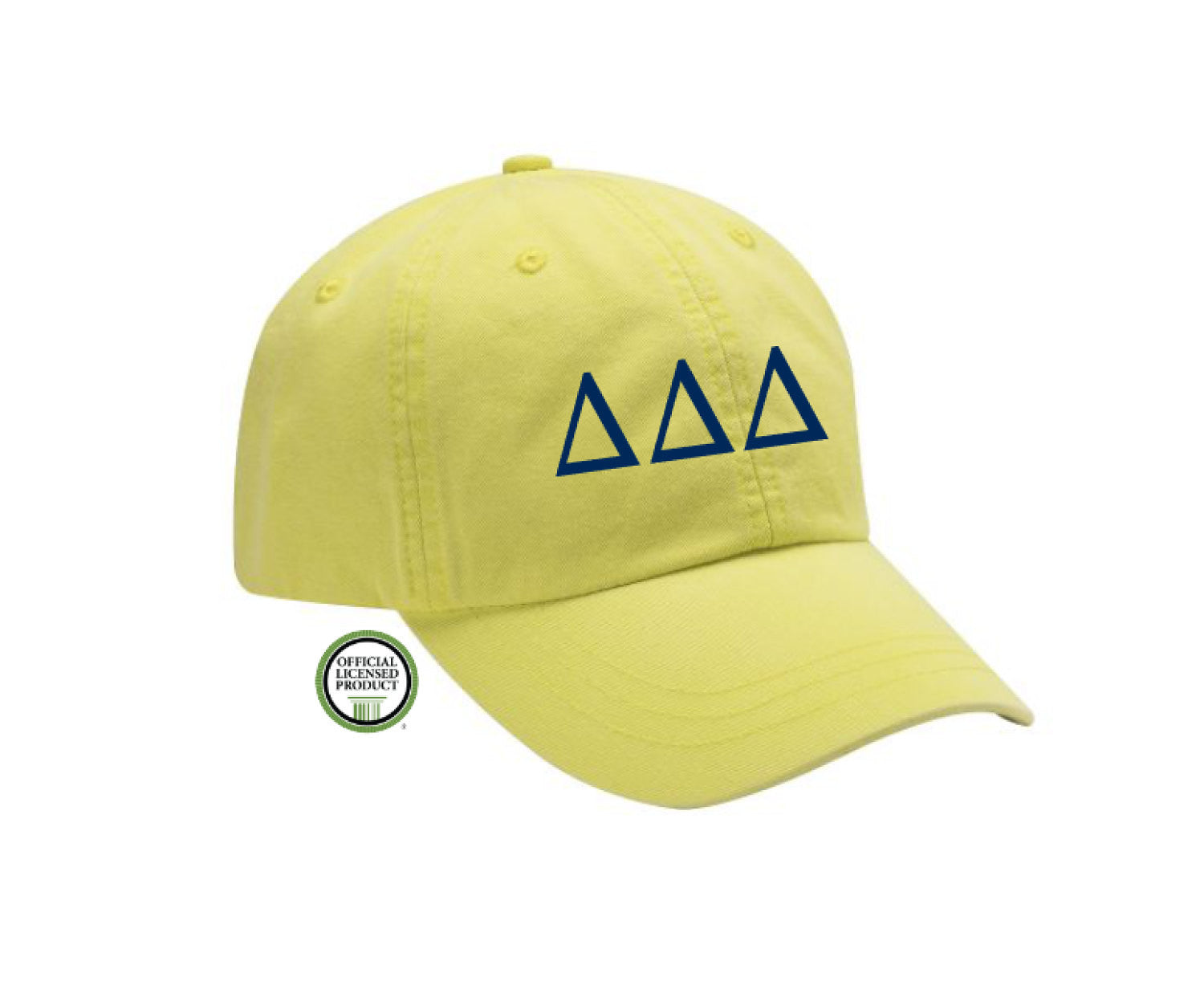 Delta Delta Delta Embroidered Hat