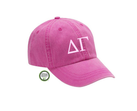 Delta Gamma Embroidered Hat