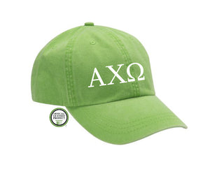 Alpha Chi Omega Embroidered Hat