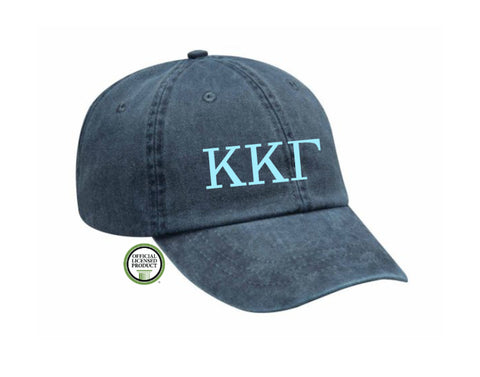 Kappa Kappa Gamma Embroidered Hat