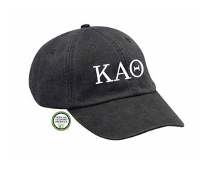 Kappa Alpha Theta Embroidered Hat