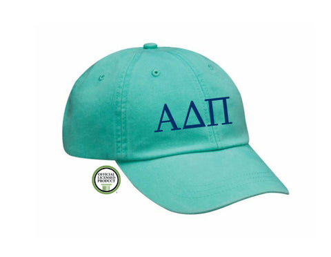 Alpha Delta Pi Embroidered Hat