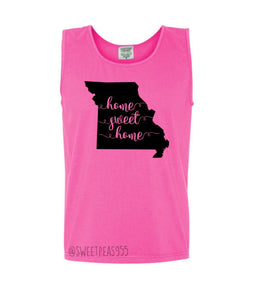Home Sweet Home Comfort Color Tank