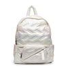 Maya Backpack - White Iridescent