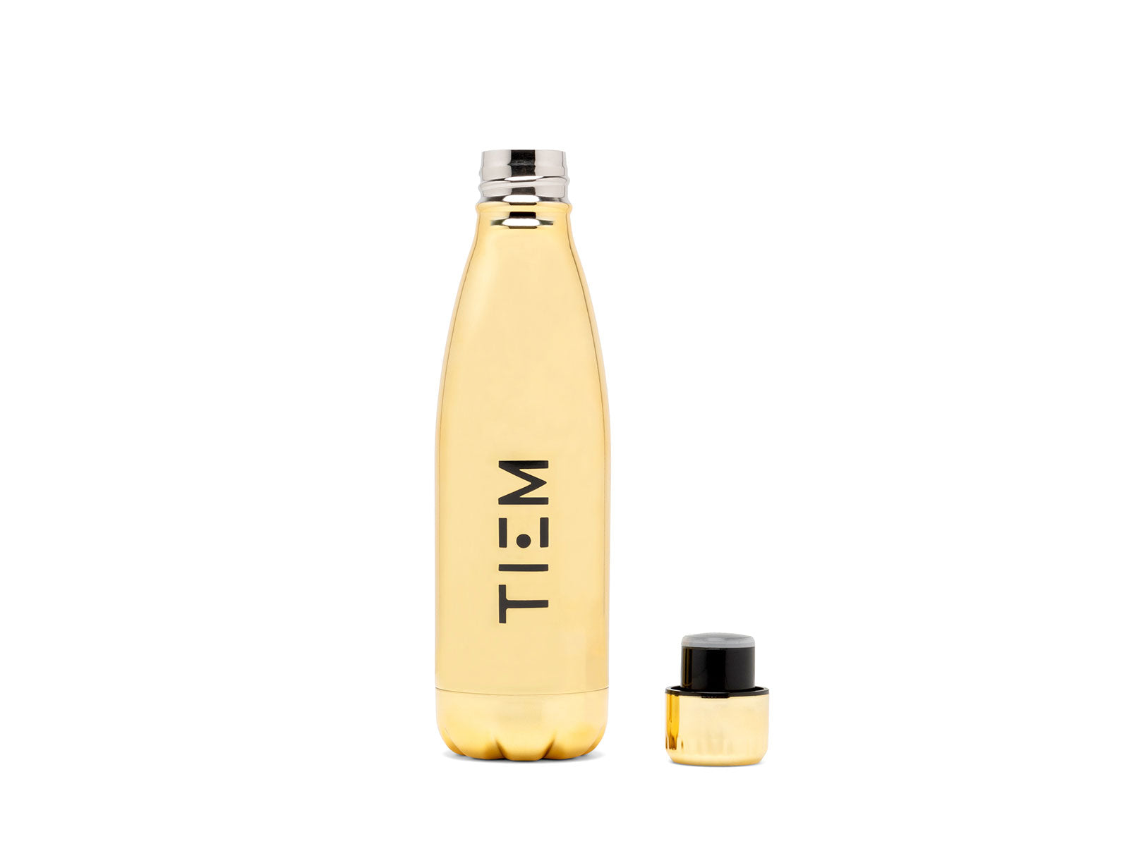 TIEM Insulated Water Bottle - Gold