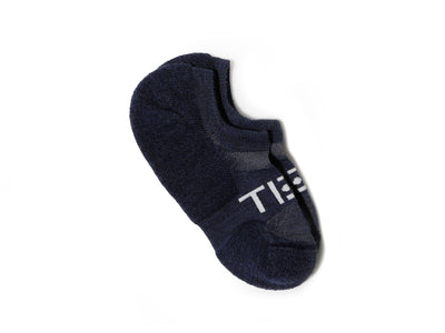 TIEM Low-cut Socks - Navy/White