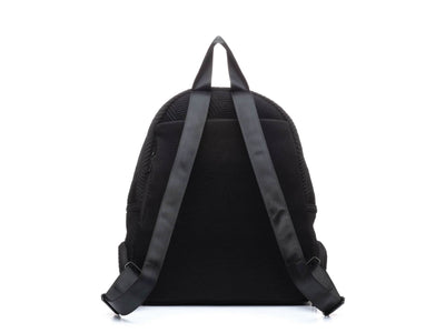 Round Backpack - Black/Black