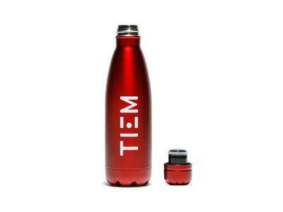 TIEM Insulated Water Bottle - Red