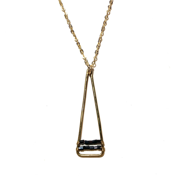 Triangle Accent Necklace