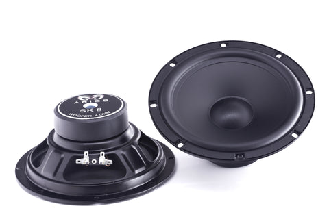 "ARIES SK8 W BY AUDIBLE PHYSICS 8"" WOOFER (PAIR)"
