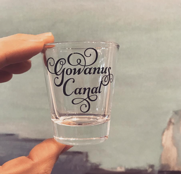 Gowanus Canal Shot Glass - Bad Girl Barware