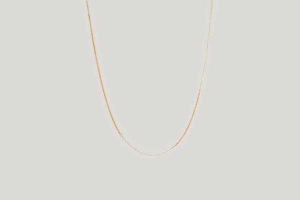 Tiny dainty chain choker necklace