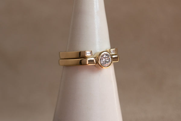 WHITE DIAMOND MISAO RING