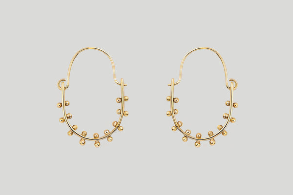 CLASSIC KUMI EARRINGS | 14K GOLD