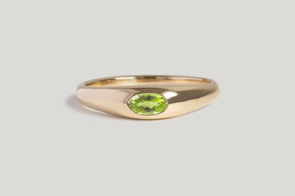 IN STOCK | PERIDOT PETITE RISA RING