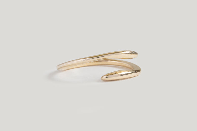 SILK RING | 14k Yellow Gold