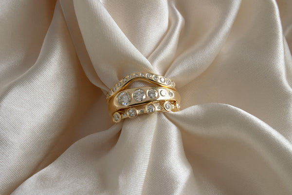 IN STOCK | WHITE DIAMOND LILA SUPRIMA RING