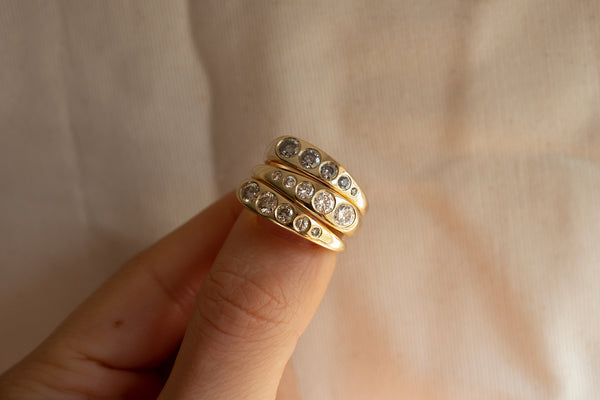 WHITE DIAMOND LILA SUPRIMA RING