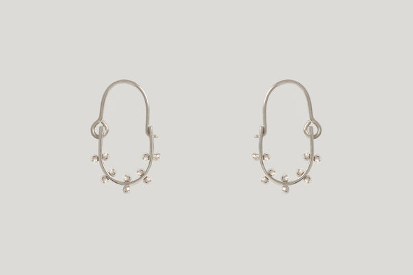 MINI KUMI EARRINGS | STERLING SILVER