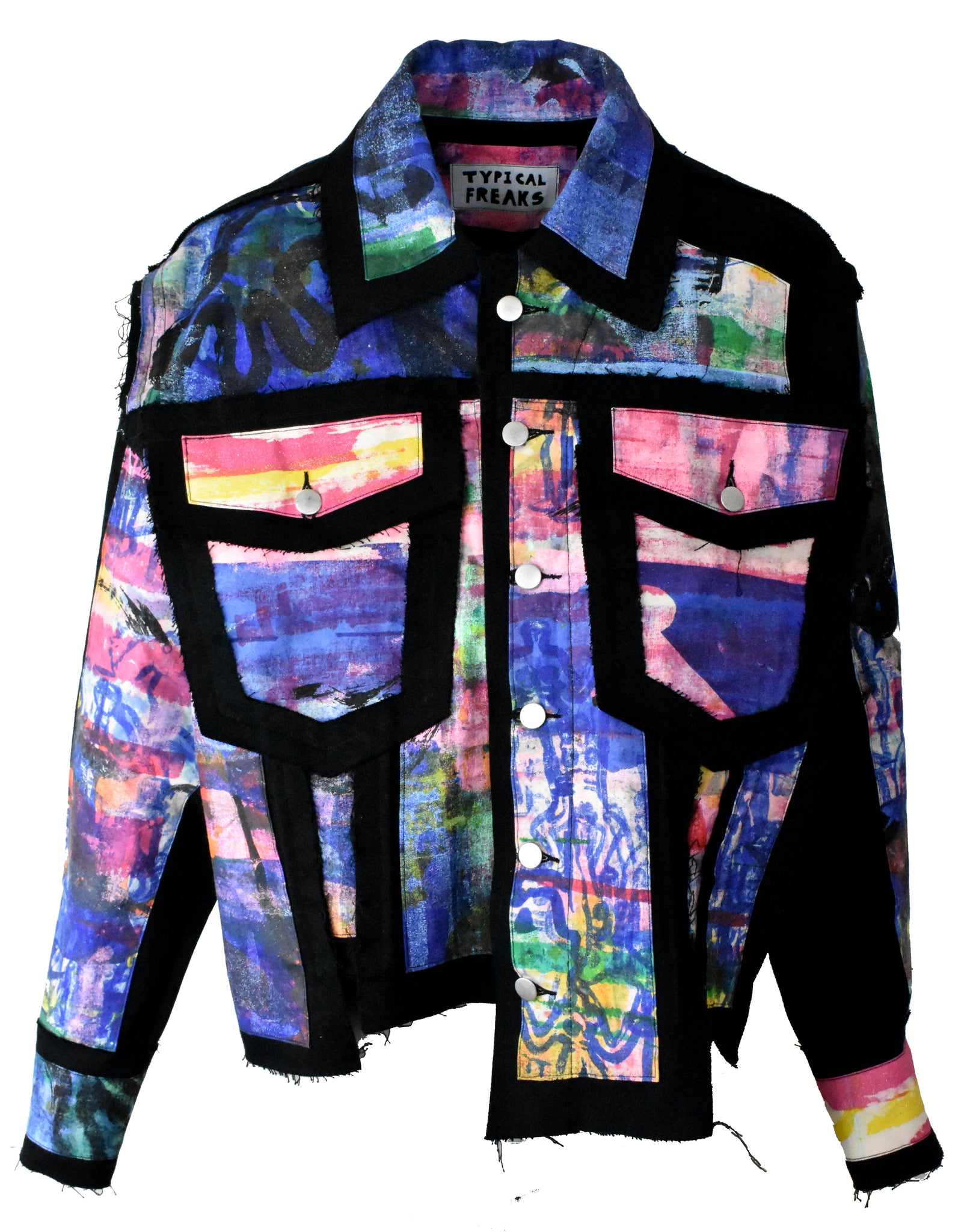 Stained Glass Denim Jacket
