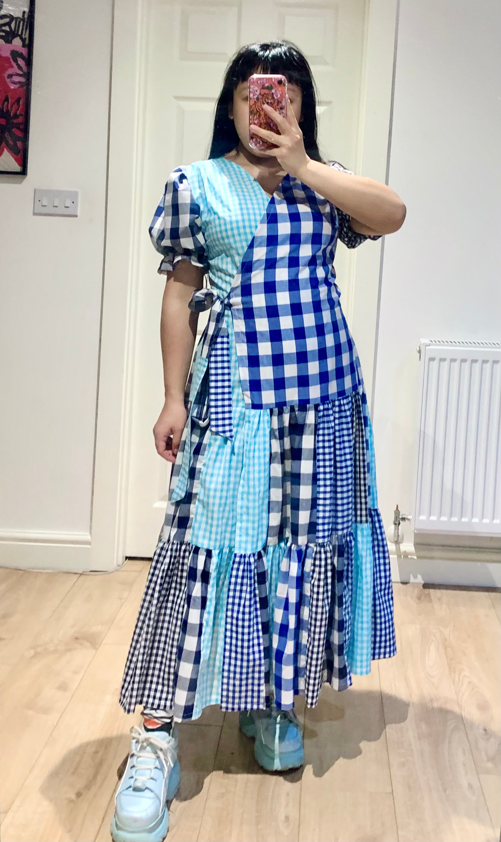 Blue Picnic Dress