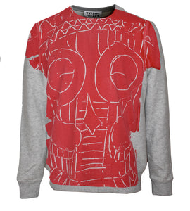 Red Mask Sweatshirt