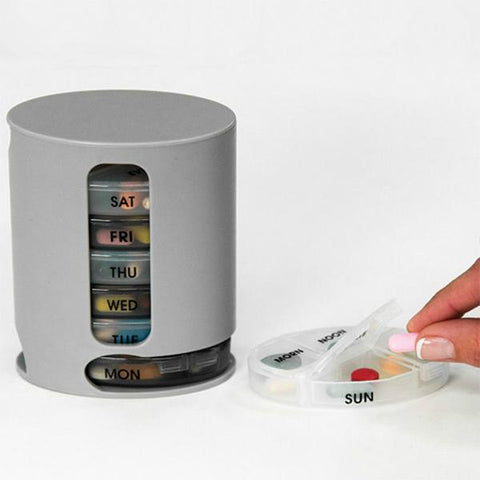 MedBox: Conveniently organize your medicine and vitamins for each day of the week