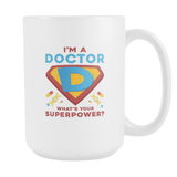 Amazing White Super Dr. Coffee Mug