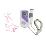 Fetal Doppler 2.5MHz Probe LCD Ultrasound Prenatal Detector Baby Heart Rate Monitor