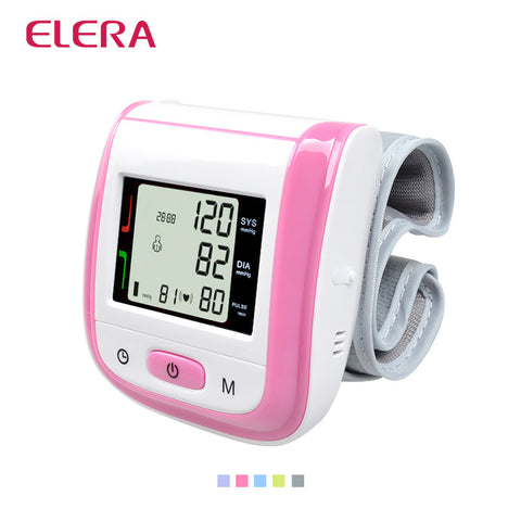 Wrist Blood Pressure Monitor Digital LCD - Colors
