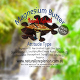 Naturally Replenish Organic Magnesium Body Butter with added MSM