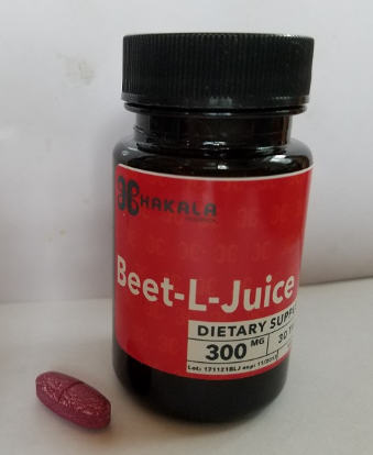 Hakala Research Beets-L Juice Tablets