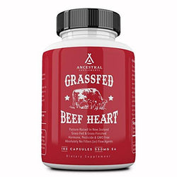 Ancestral Supplements Grass Fed Desiccated Beef Heart