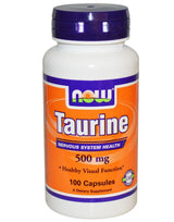 Now Foods Taurine 500mg 100ct