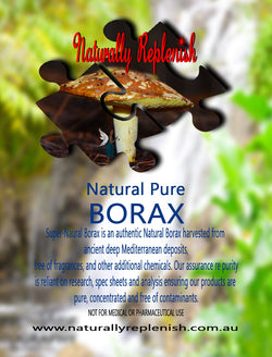 Naturally Replenish Natural Pure Borax
