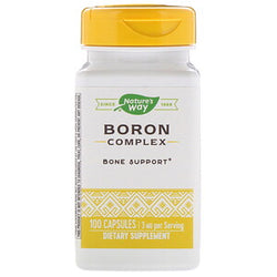 Natures Way Boron Complex 100ct